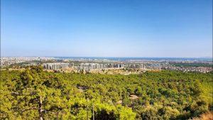 Kepezüstü Seyir Terası Antalya Kent Manzarası