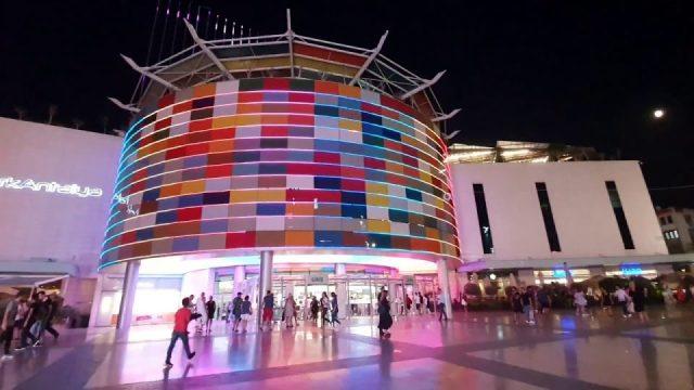 Markantalya Akşam Manzarası - Antalya Şehir Merkezi