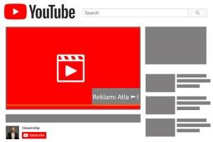 Sponsorlu Youtube Reklamı - 100 Bin Gösterim 900 TL.
