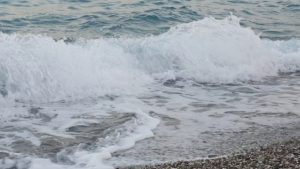 5 Dakika Dalga Seslerini Dinle - Antalya Konyaaltı Plajı Huzur Molası