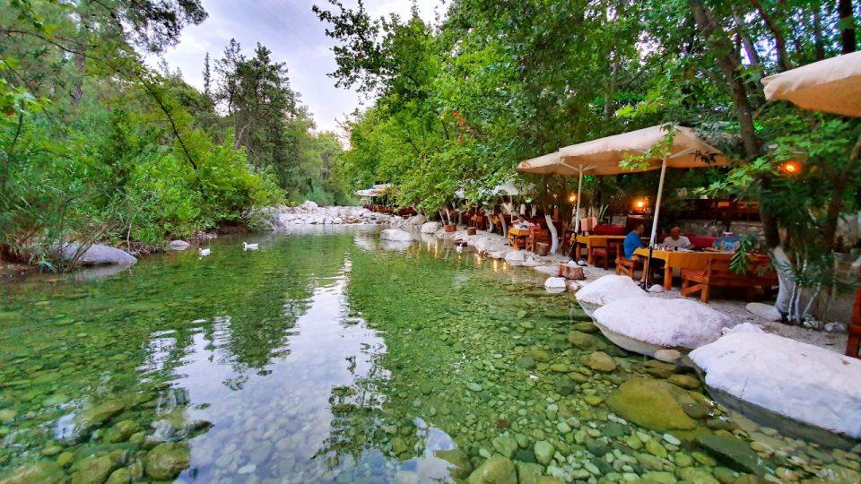 Kemer Doğal Güzellikler Gezilecek Yerler Kahvaltı Yarıkpınar Meydan Restaurant_19