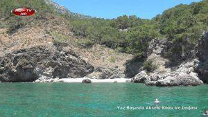 Adrasan Akseki Koyu doğal güzellikleri ve yaz manzaraları