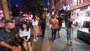 Antalya Kapalı Yol Akşam Vakti Yürüyüş (Pandemi önces 2019)