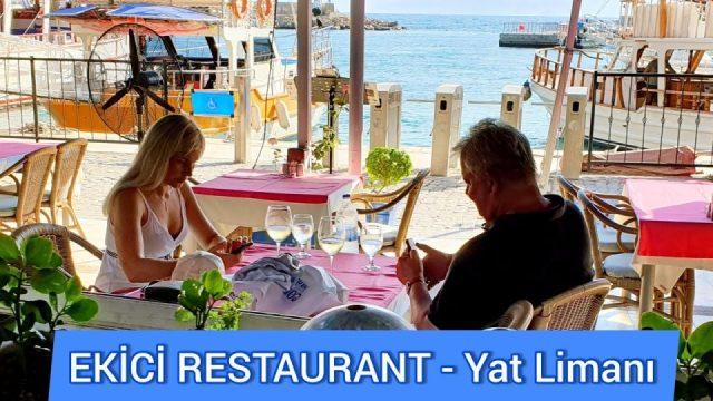 Yat Limanı Ekici Restaurant Antalya Kaleiçi Fish Restaurant