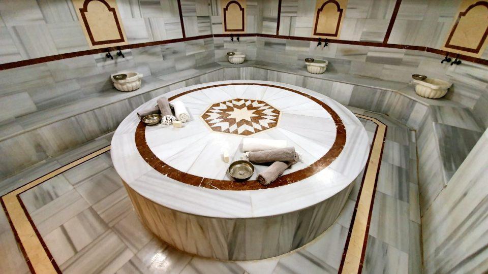 hamam sauna masaj köpük tuz buhar odası spa blue garden hotel konyaaltı antalya_31