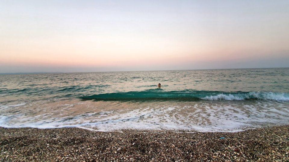 Konyaaltı Deniz Manzarası Antalya Plajları