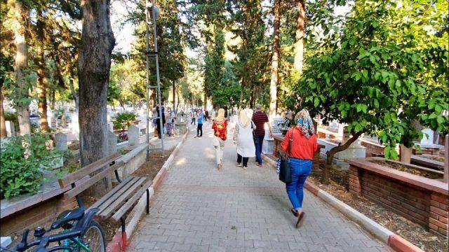 Kurban Bayramı Arefe Günü Andızlı Mezarlığı Antalya 2020