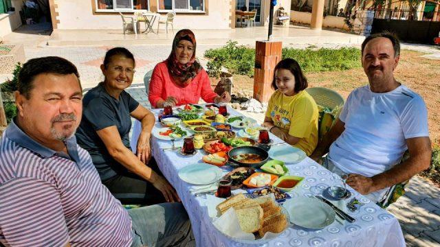 Salda Gölü Konaklama Yerleri Duman Home VIP Serpme Kahvaltı