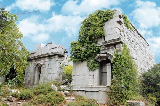 Termessos Antikkenti ve Güllük Dağı Doğası Termessos ancient city - Gulluk Mountain Nature