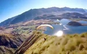 Tam anlamıyla yürek hoplatan bir spor: Yamaç Paraşütü
