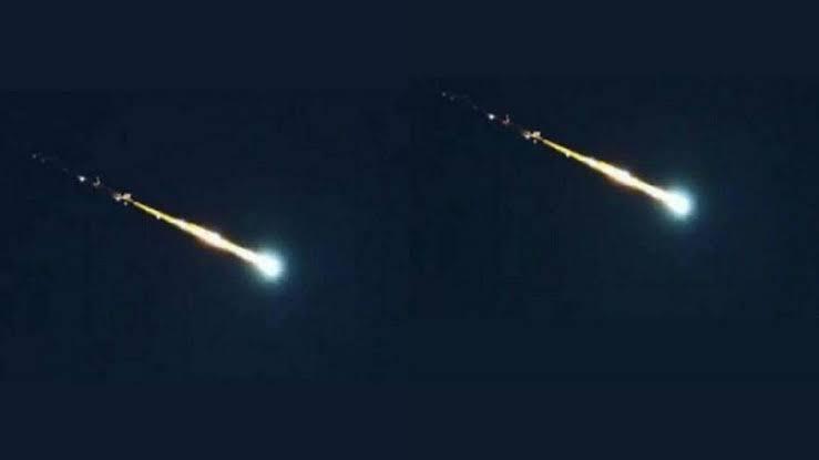 Dünyaya bir meteor göktaşı çarpacak olsa – uzay evren yıldız kayması 2