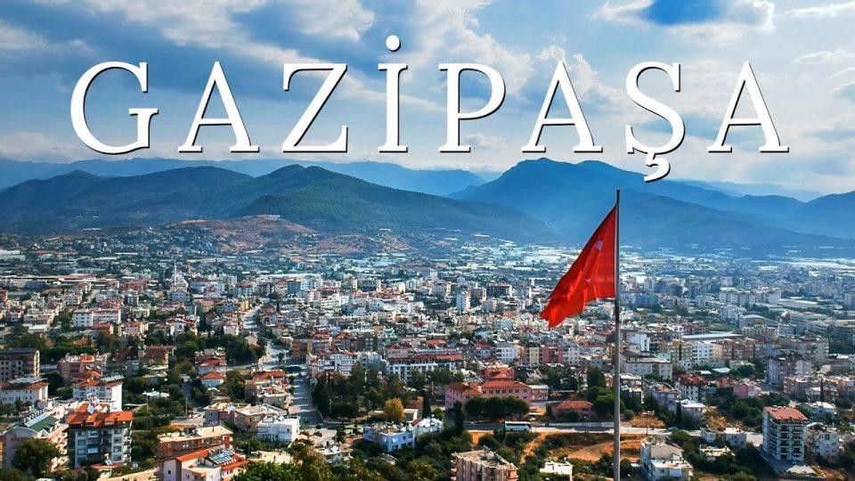 Antalya Gazipaşa ilçesinden hava çekimi görüntüleri