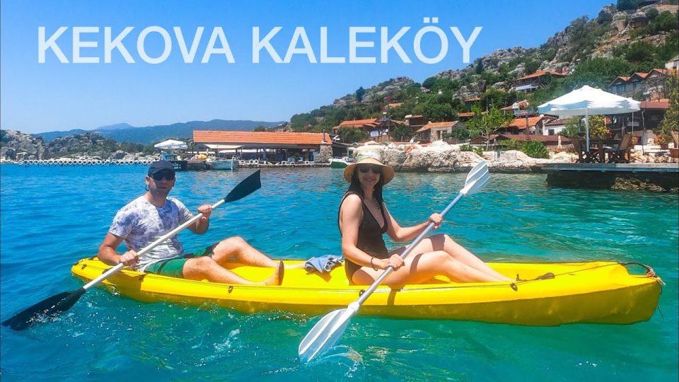 Kekova Kaleköy Simena Kalesi Batık Şehir Kano Turu