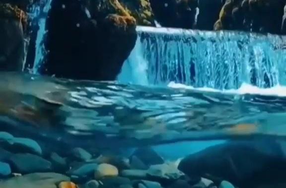suyun altındaki güzellik