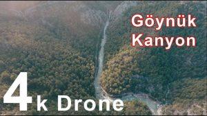 Göynük Kanyonu Antalya Turkey Drone Video Çekimi - Antalya Gezilecek Yerler