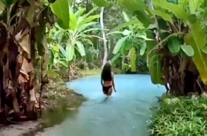 Otantik Yüzme Havuzu (Video)