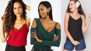 Askılı Bluz Çeşitleri Yeni Sezon Askılılar Kadın Moda Bayan Giyim Bluz Modelleri Kombin