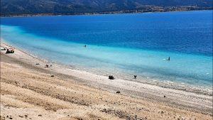 Salda Gölü Sahillerinde Muhteşem Göl Manzarası