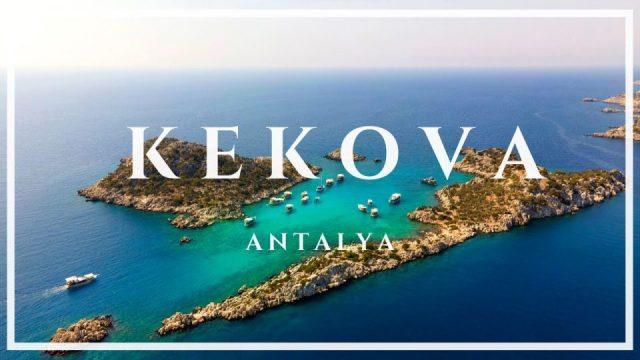 Kekova Adasından Muhteşem Drone Görüntüleri