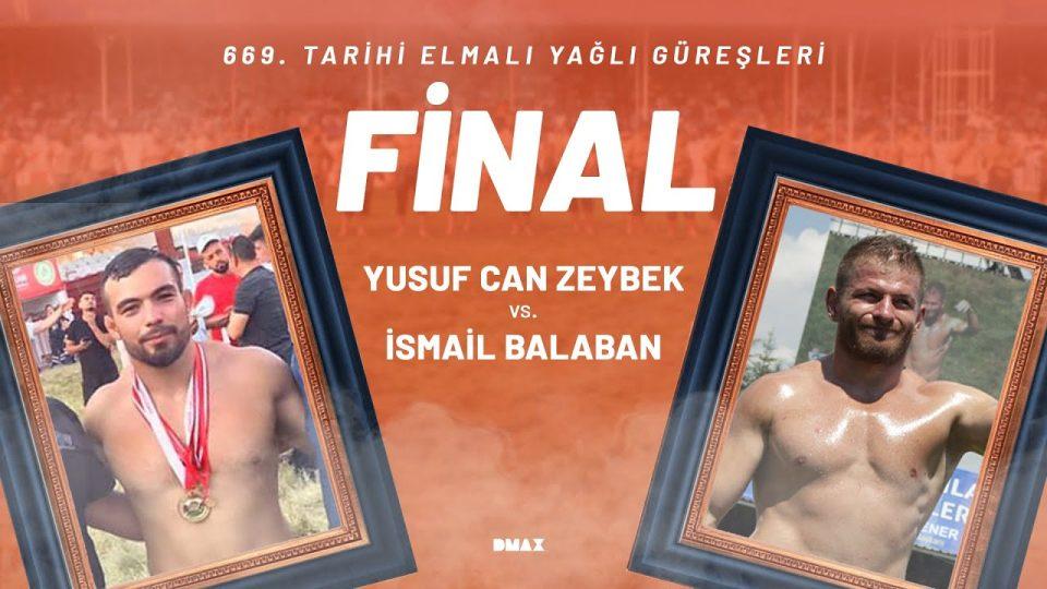 Elmalı Yağlı Güreşleri 2021 İsmail Balaban Final Güreşi İzle