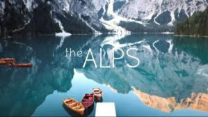 Spectacular nature, forest and lake views from the Alps