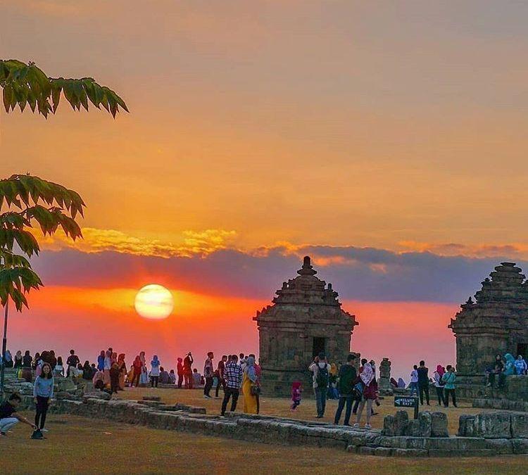 Berburu Sunset di Candi Ijo, Candi Tertinggi di Yogyakarta