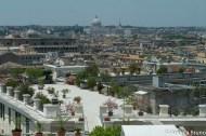 Panorama di Roma dalle Scuderie del Quirinale