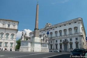 Piazza del Quirinale e Palazzo della Consulta