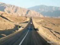 Sulla strada per il deserto del Kalut