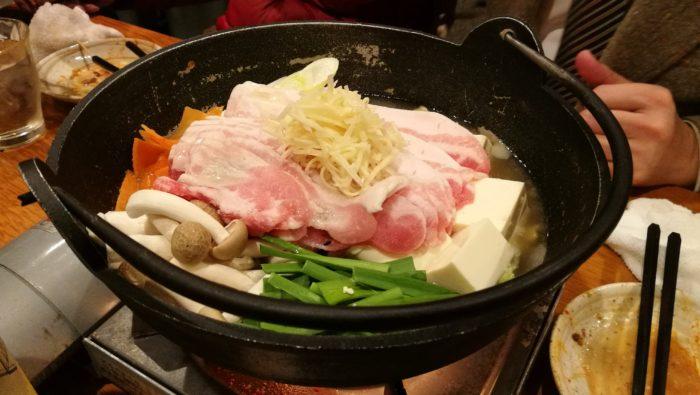 体温まる塩生姜鍋