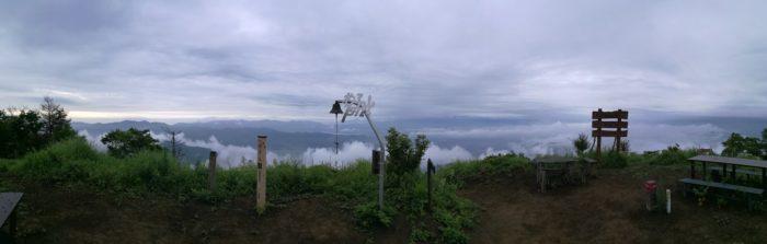 パノラマ写真 杓子山