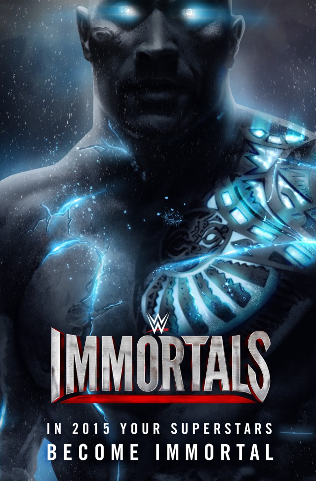 Promotional Art For WWE Immortals Has Surfaced EGMNOW