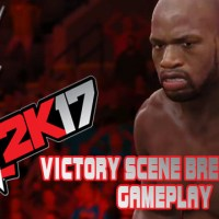 WWE 2K17 Victory Scene Breakouts Gameplay