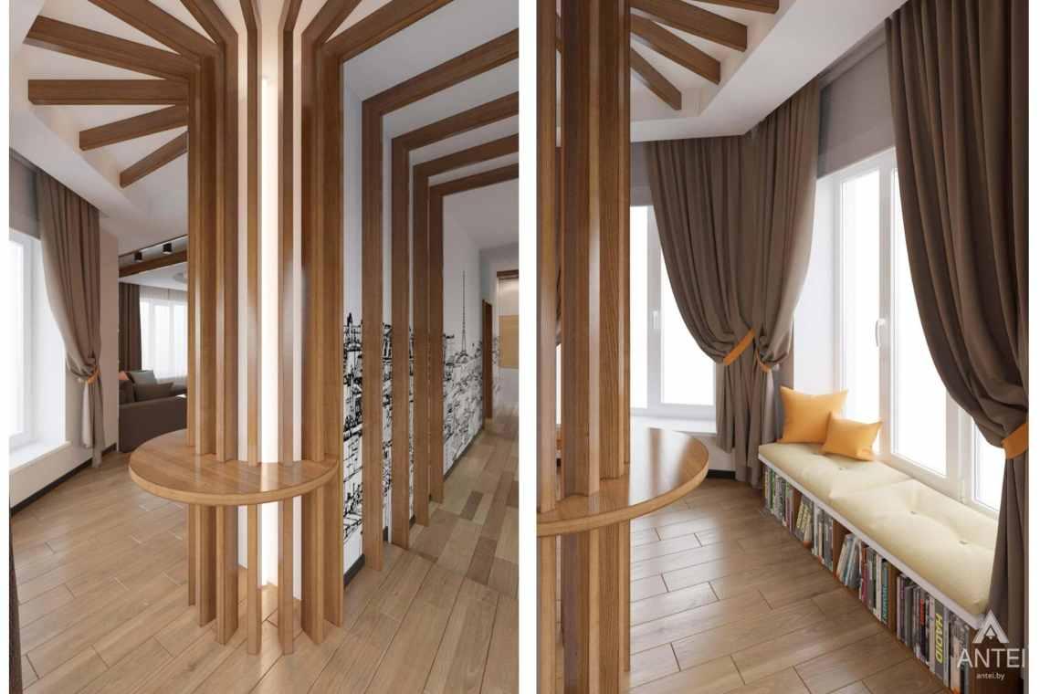 Дизайн интерьера загородного дома в п. Улуковье, Гомельский р-н - фото №1