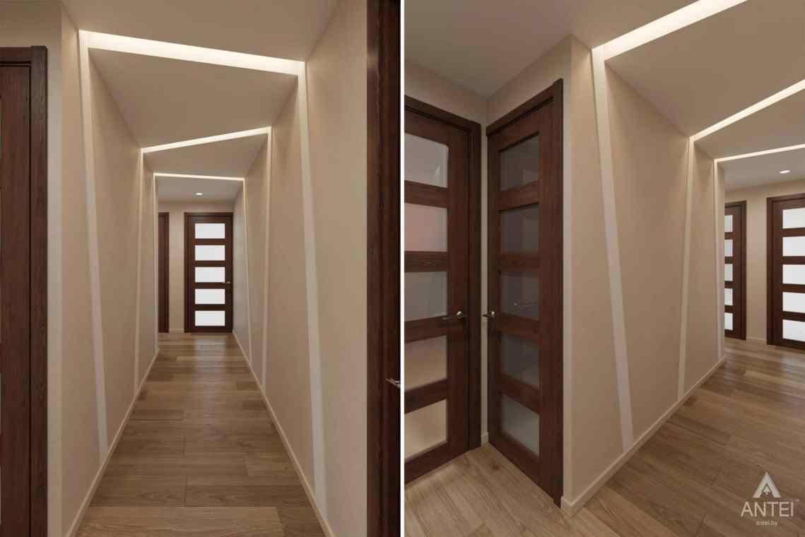 Дизайн интерьера квартиры в г. Гомеле, ул. Кожара, 55 - прихожая фото №1