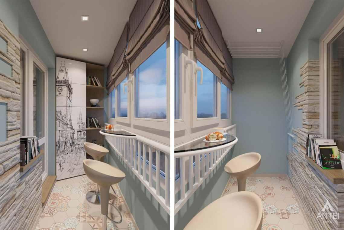 Дизайн интерьера квартиры в Гомеле, ул. Мазурова - лоджия фото №1
