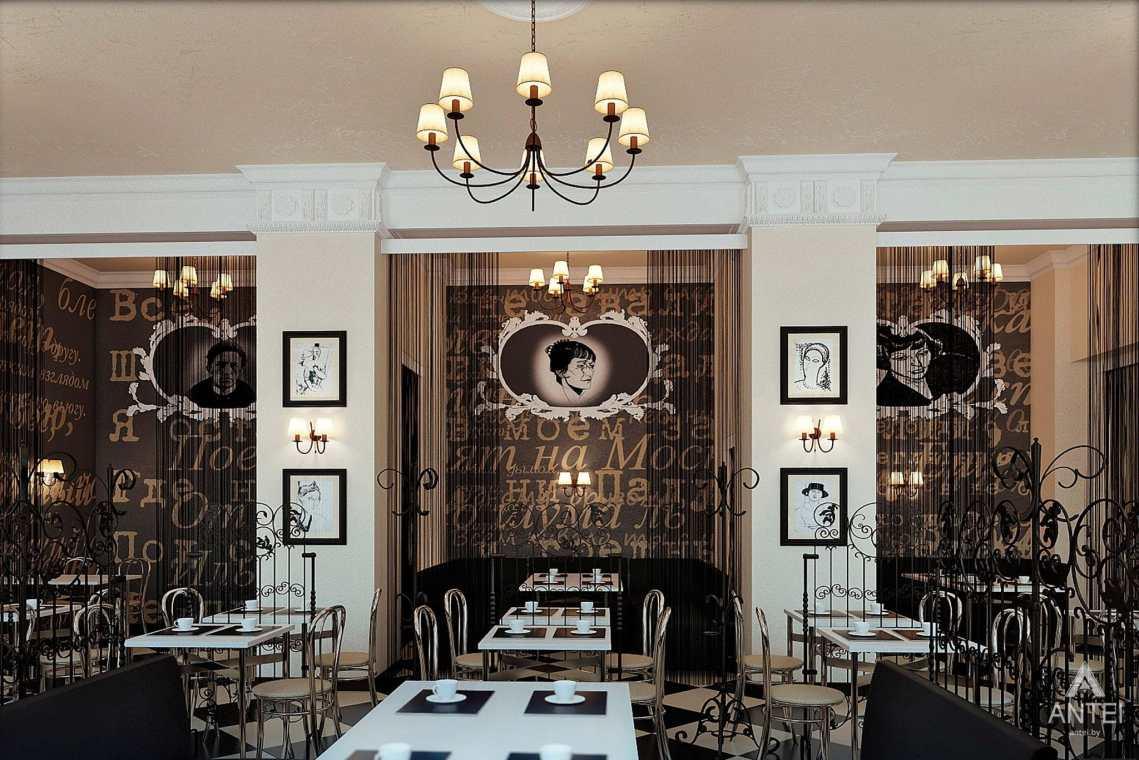 Дизайн интерьера кафе в Гомеле - фото №2