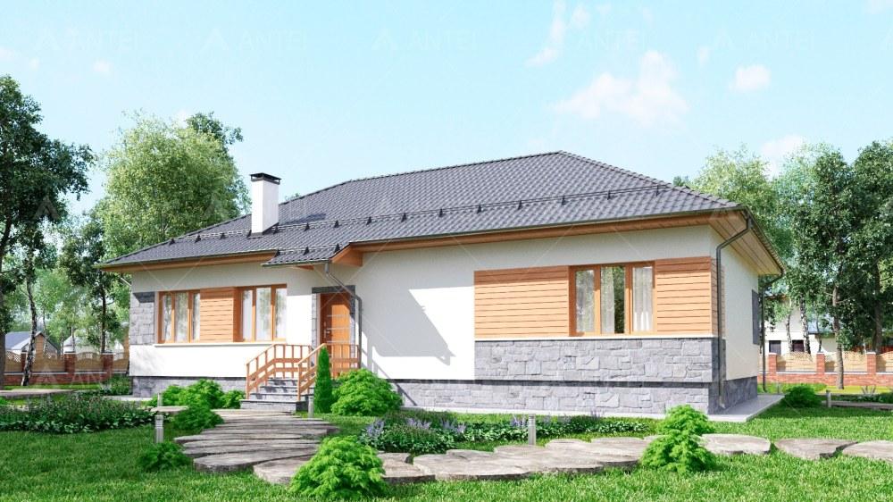 Проект одноэтажного дома «КО-119» - фото №2