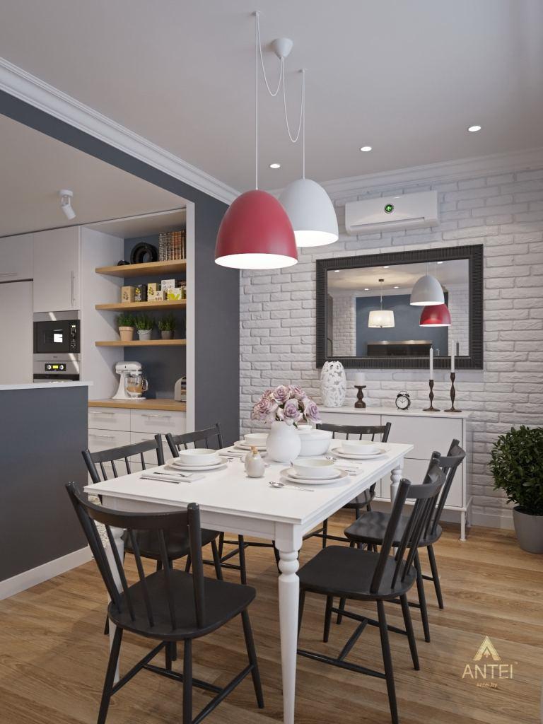 Дизайн интерьера квартиры в Гомеле, ул. Волотовская - гостиная фото №2