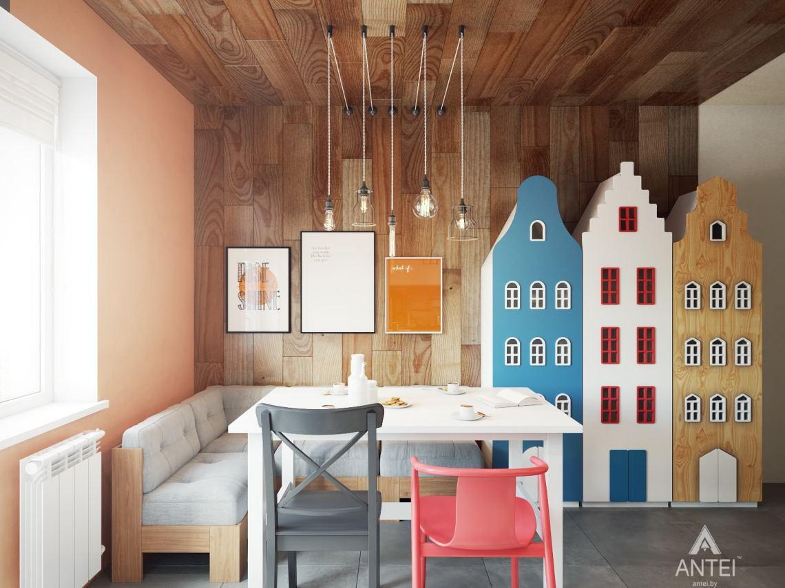 Дизайн интерьера квартиры в Гомеле, ул. Пенязькова - кухня фото №3