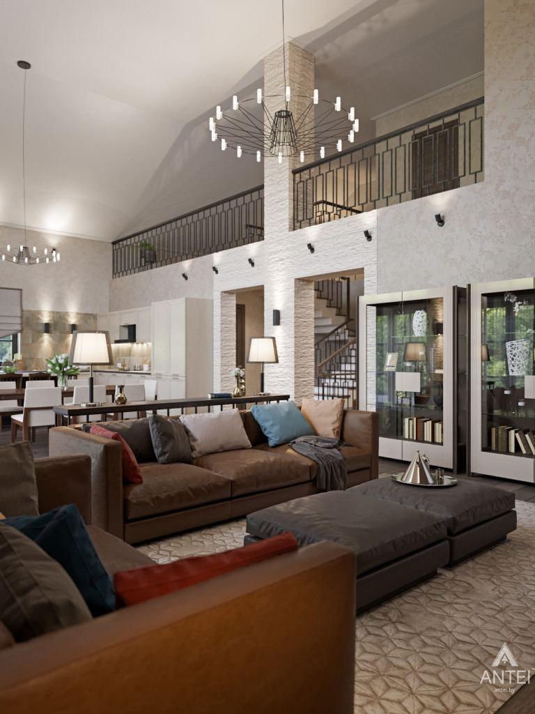 Дизайн интерьера квартиры в Гомеле, ул. Пенязькова - гостиная фото №2