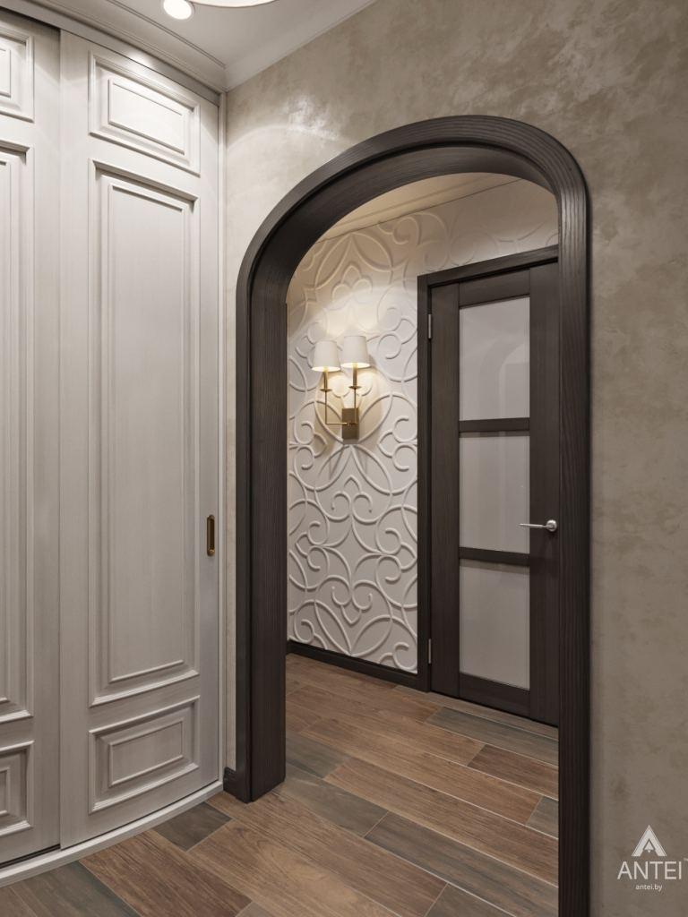Дизайн интерьера квартиры в Гомеле, ул. Мазурова - прихожая фото №3