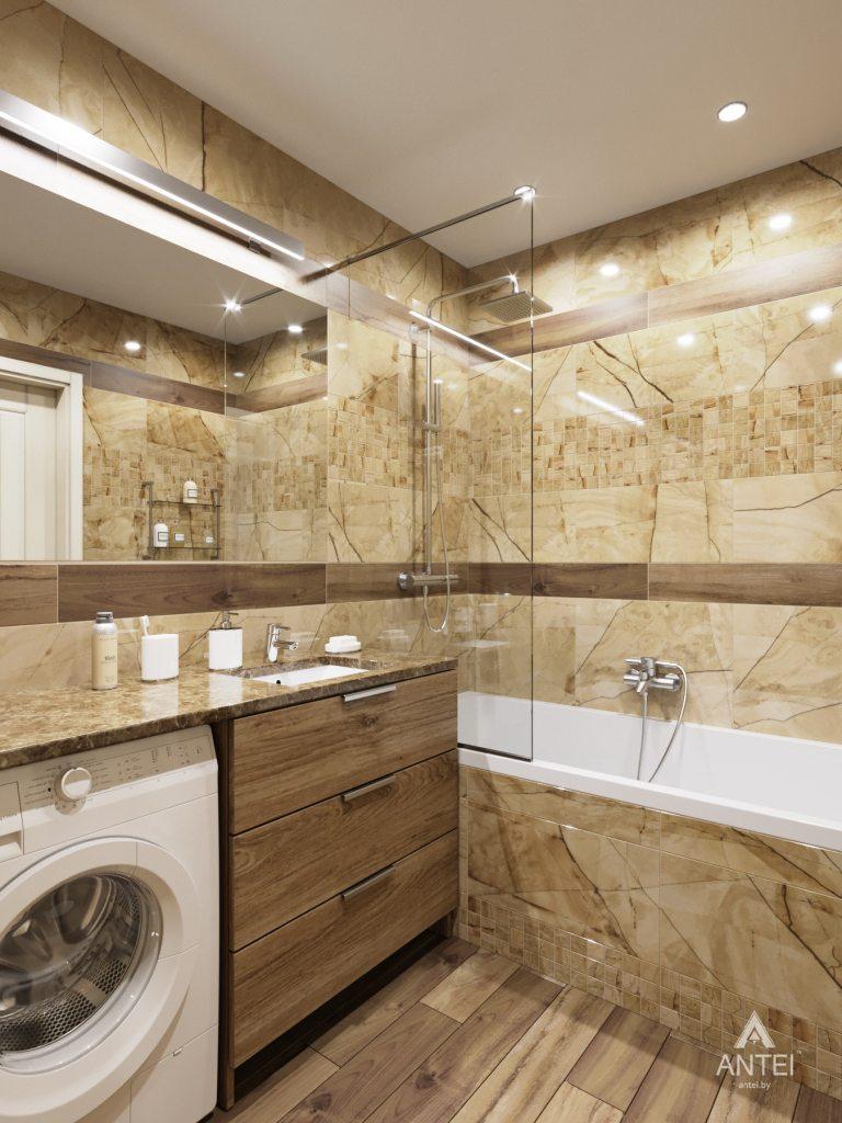 Дизайн интерьера квартиры в Гомеле, ул. Мазурова - ванная фото №5