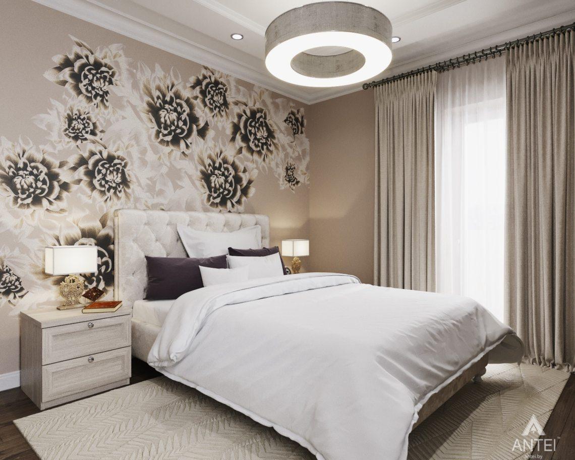 Дизайн интерьера квартиры в Гомеле - спальня фото №2