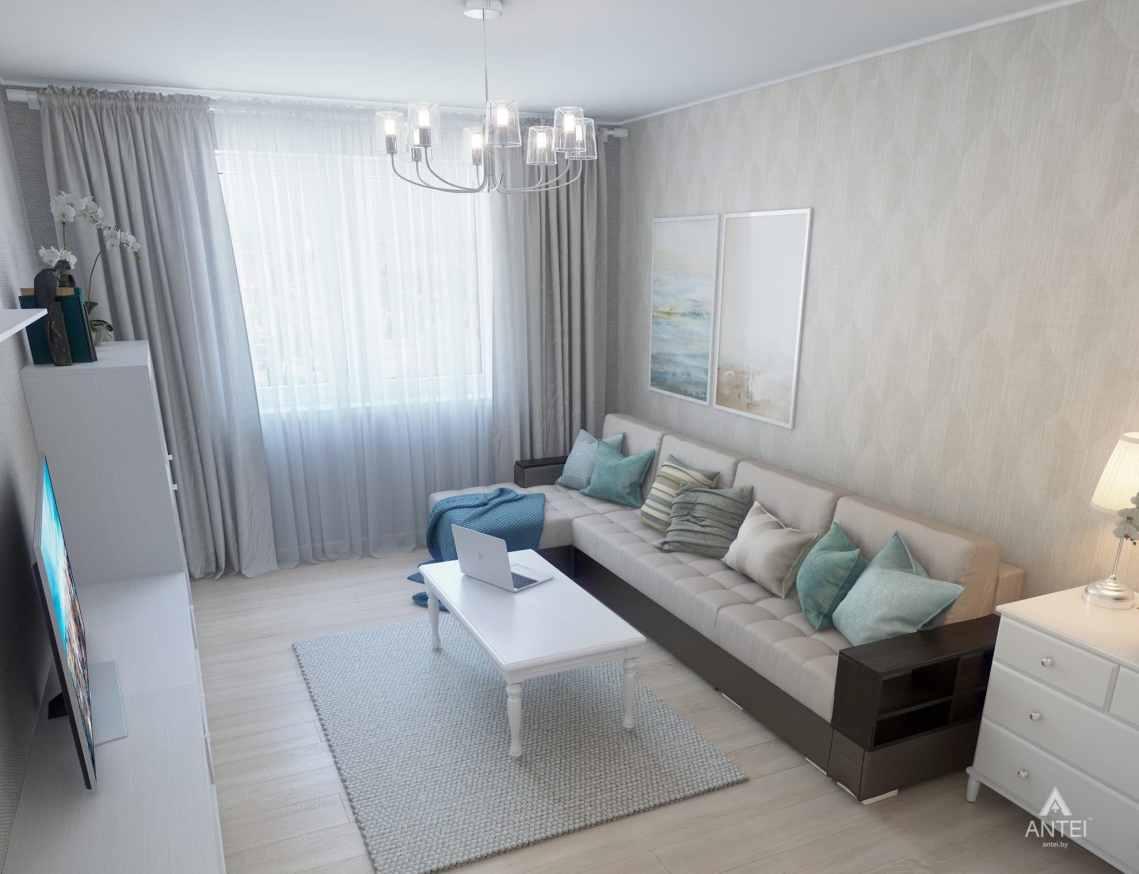 Дизайн интерьера квартиры в Гомеле, ул. Барыкина - гостиная фото №5