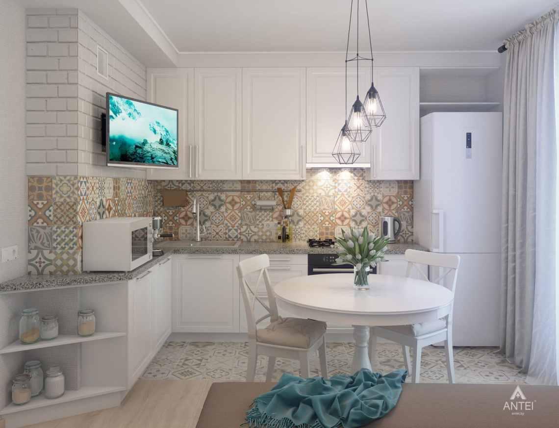Дизайн интерьера квартиры в Гомеле, ул. Барыкина - кухня фото №4