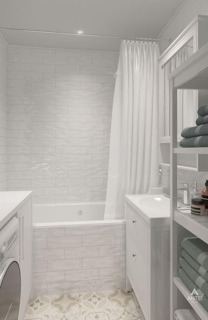 Дизайн интерьера квартиры в Гомеле, ул. Барыкина - ванная фото №2