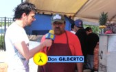 "Don Gilberto habla inglés, español y francés! ""Make Tacos No War"""