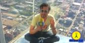 Boti desde la Willis Tower, el rascacielos más alto del continente americano! Sí, sí, fue diseñado por un arquitecto colombiano.