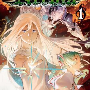 コミックスカバーデザイン:Arcdia(アークディア)1巻&2巻